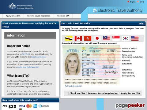 Internet Visa Services Australia