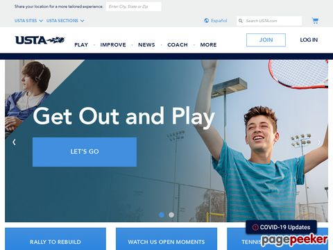 usta.com - United States Tennis Association (USTA)