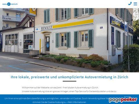 easy2rent.ch - Auto und Wohnwagen Vermietung in Zürich