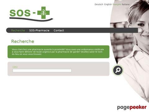 Apotheken-Notfalldienst der Schweiz - das Verzeichnis