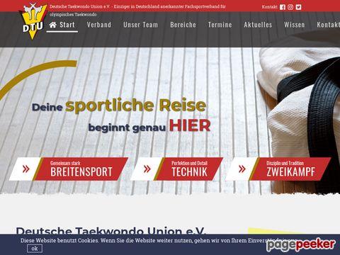 DTU - Deutsche Taekwondo Union e.V.