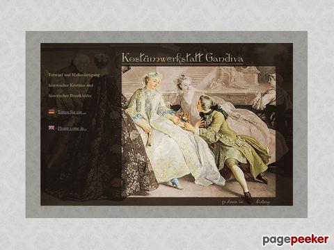 Gandiva - Historische Kostüme & historische Brautkleider nach Maß