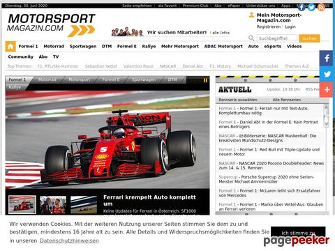 motorsport-magazin.com - News, Bilder, Ergebnisse, Live-Ticker, Community