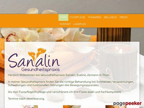 sanalin.ch - Therapeutische Massagen