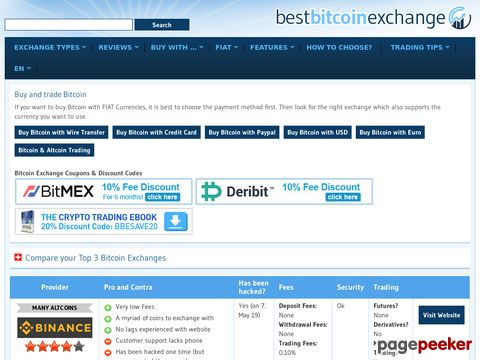 Best Bitcoin Exchange - Best Bitcoin Exchange Reviews