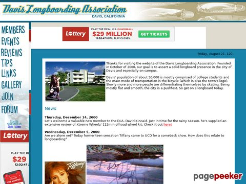 Davis Longboarding Association - Davis, Calif.