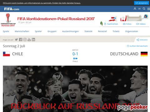 Konföderationen-Pokal - Confederations Cup