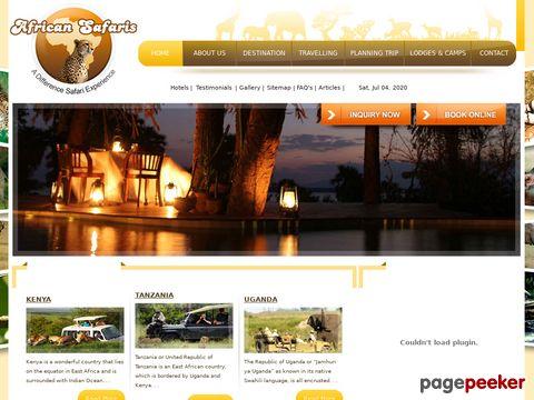 Kenia Budget Safari Agents-Lokale Reisebüros in Nairobi