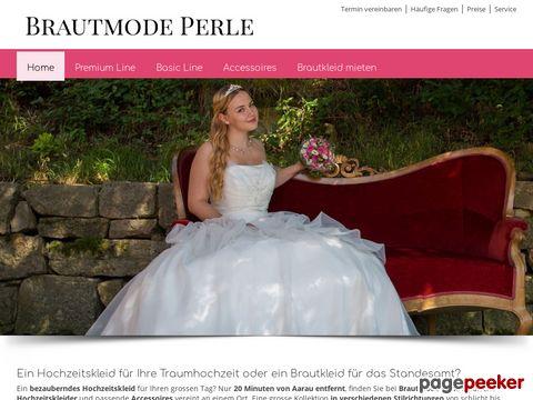 brautperle.ch - Brautkleid kaufen oder mieten.