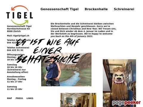 Tigel - Das Qualitätsbrockenhaus in Zürcher Seefeld