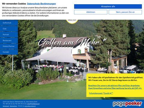 golfdavos.ch (Davos GR)