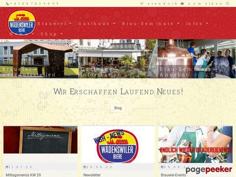 waedi-bier.ch - Wädenswiler Bierwelt!
