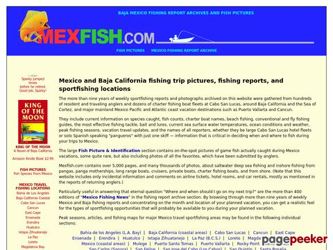 Mexico Fishing News and Sportfishing Vacation Information