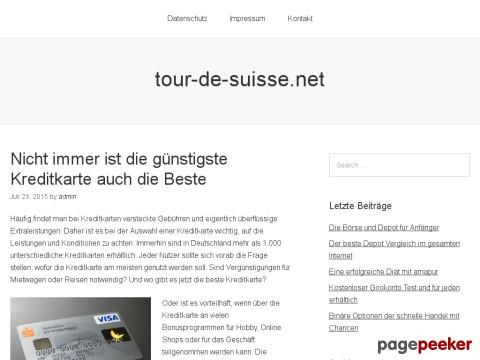 Zeitschriften Schweiz - Tour-de-Suisse.NET