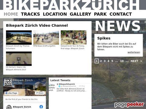Bikepark Zürich - hinter dem Sihlcity - ZH