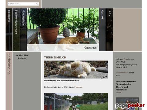 Tierheime.ch - Übersicht der Schweizer Tierheime