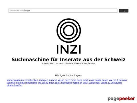 inzi.ch - Gratis Inserate-Suchmaschine für Schweizer Inserate