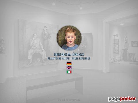 Portraitmalerei von Manfred W. Jürgens