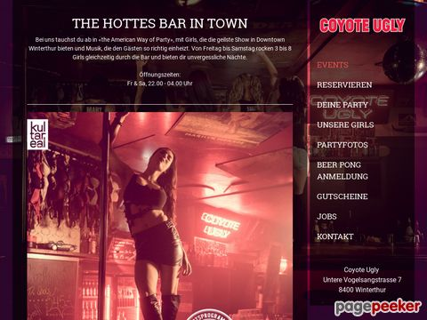 Coyote Ugly Winterthur