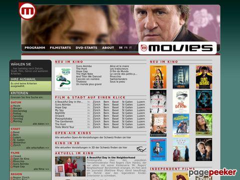 movies.ch - Ihr Kinoprogramm im Internet