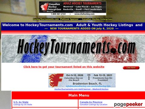Hockey Tournaments.com
