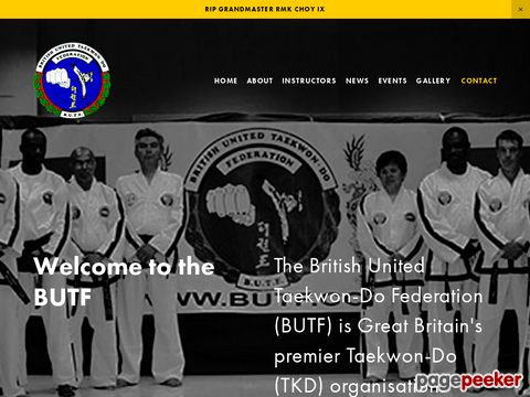 British United Taekwon-Do Federation (BUTF)