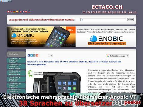 ectaco.ch - Elektronisches Wörterbuch Ectaco, Inc: online kaufen.