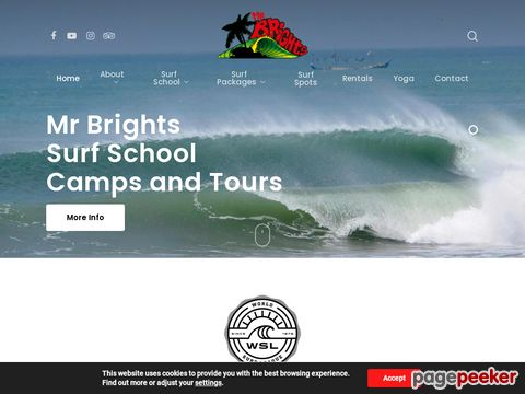 Mr Brights - Mr Brights Surf School - Ghana