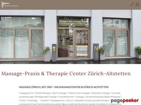 massage-altstetten.ch - Massage-Praxis & Therapie Center Zürich - Altstetten