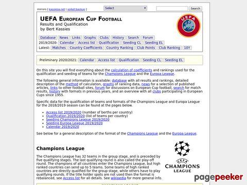UEFA European Cup Football