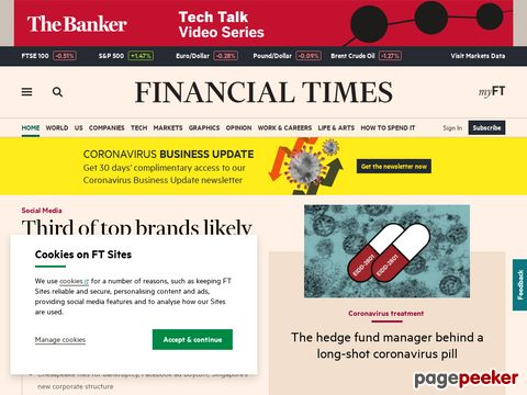 FT.com - Financial Times News