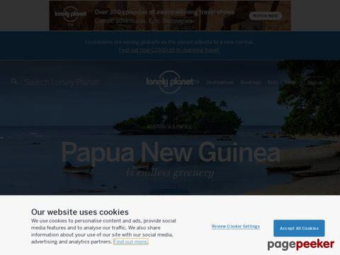 Lonely Planet - Papua New Guinea Travel Information and Travel Guide
