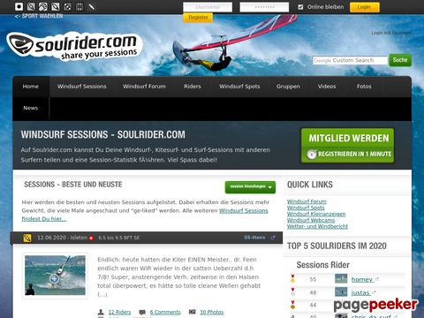 Soulrider.com - Blog Your Sport Action!