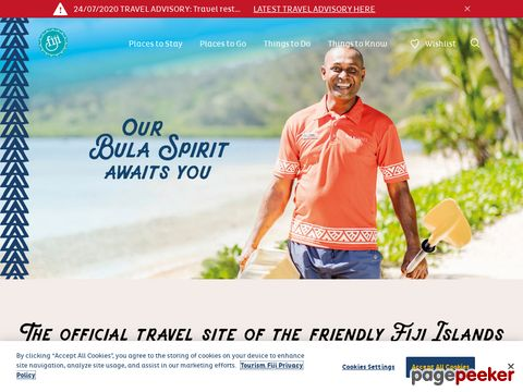 Official Fiji Islands Travel Guide