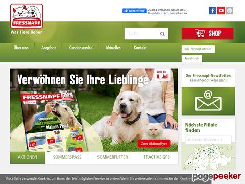 FRESSNAPF – Alles für Ihr Tier / Tout pour vos animaux!