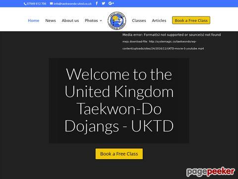 UKTD Taekwondo ITF