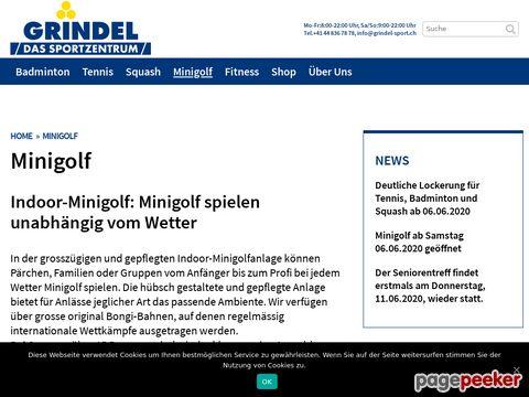 Indoor - Minigolf - Grindel Sportzentrum - Bassersdorf ZH