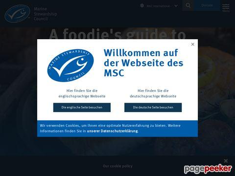 MSC : Marine Stewardship Council - Das Label für Fisch