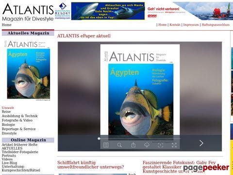 ATLANTIS Magazin für Divestyle
