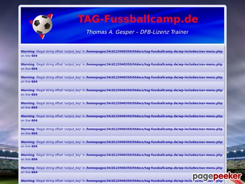TAG-Fussballcamp.de – Fußballcamps, Trainingslager und Turniere