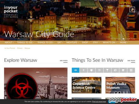 Warsaw City Guide - Online City Guide about Warsaw, Poland