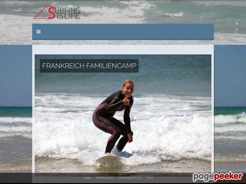 surfingislife.de - Surfing is life - Wellenreiten in Frankreich und Marokko