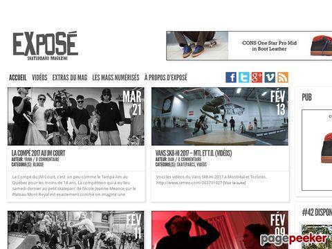 +++Expose Skateboard Magazine+++ (Canada)