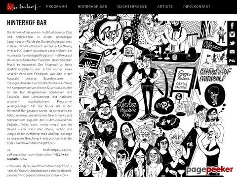 Hinterhof Bar & Dachterrasse