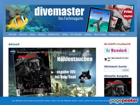 Divemaster.de - Das Fachmagazin im Tauchsport